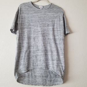 LulaRoe Irma Hi Lo T-shirt XS EUC